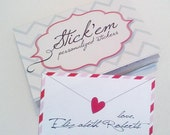 Valentines Day personalized gift labels and stickers!