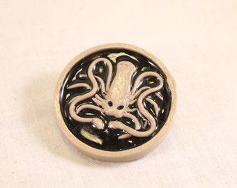 House Greyjoy Kraken Pin Polymer Clay Nerd Jewelry