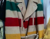 Men's Large Vintage Hudson's Bay Co. Coat Jacket
