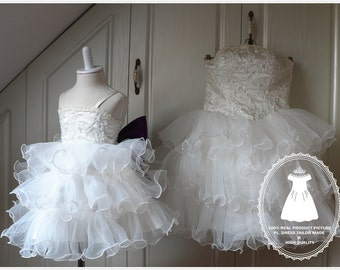 Mother daughter tutu etsy for Matching wedding and flower girl dresses
