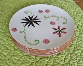 Stangl Carnival Luncheon Salad Plate 8 inch 1950