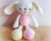 Amigurumi spring bunny,plush bunny,toys for girls,amigurumi soft toy,crochet bunny,crochet toy,amigurumi,crochet,toy bunny rabbit.