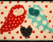 Quilted Postcards Pattern PDF- In time for Valentine's Day