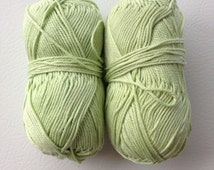 Patons Grace Mercerized Cotton Yarn, Mint