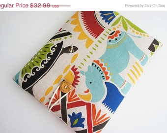 Hippo 13 inch Laptop Sleeve - Macbook Air or Pro,  Custom Size for Your 13'' Laptop - Laptop Cover, Padded Sleeve Case