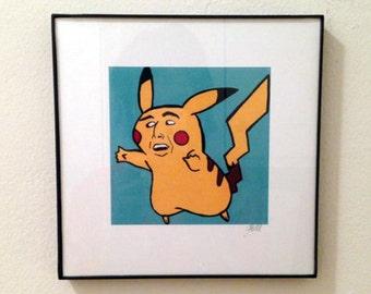 Cagechu Framed Print