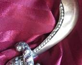 Sterling Silver Sword Brooch