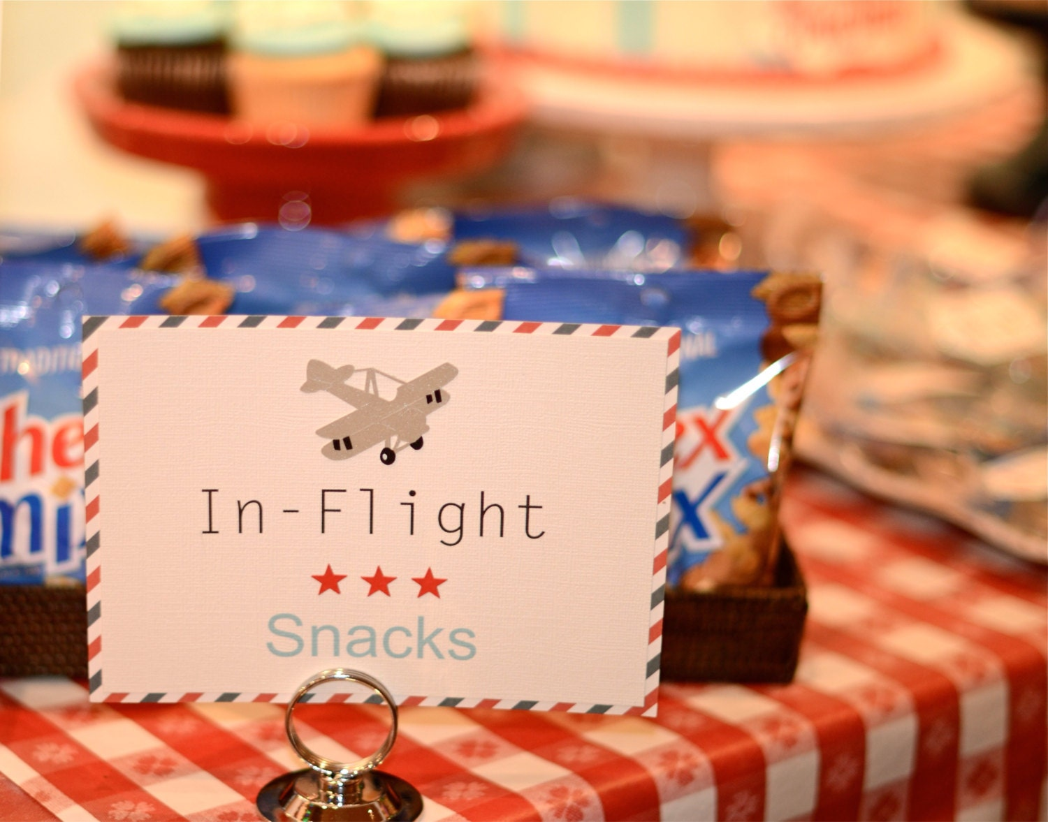 Vintage Airplane Party Ideas Vintage By VeroniqueCreations On Etsy