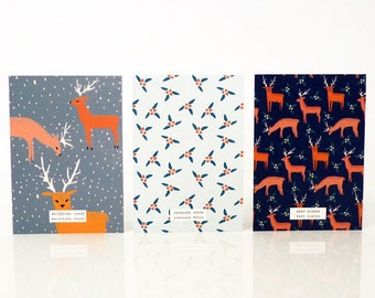 """Set of 3 """"Oh dears"""" cards - Pack de 3 cartes """"Oh dears"""""""