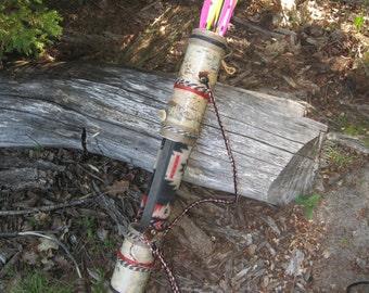NEW 3 Inch Diameter BirchBark Rover The Apache 27 inches long