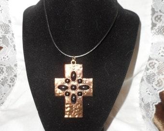 Brass Cross Pendant