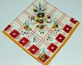 Vintage Hankie for Collectors, Sewing, Crafting, Great Gift Idea   C 15