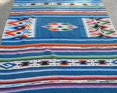Vintage Native American Blanket/ Rug