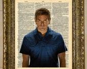 Dexter Morgan Dictionary Art