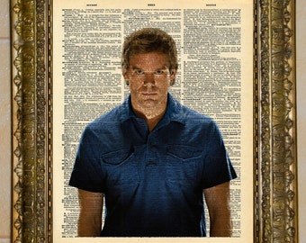 Dexter Morgan Dictionary Art
