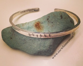 Armenian Personalized Cuff - Your Words in YOUR language