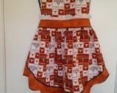 Texas longhorns full apron