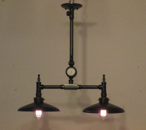 Vintage And Industrial Lighting From Etsy: Items Similar To Steampunk Light Vintage Industrial