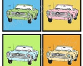 Mustang 4x4 tiles