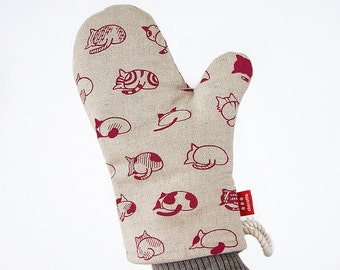 Cat Butts Oven Mitt