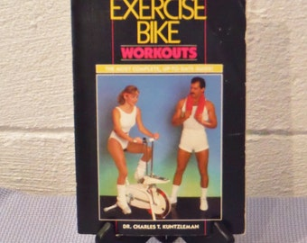 Vintage 80's Exercise Workout book