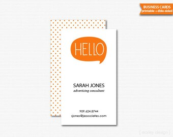 Business Cards Printable Digital PDF Calling Cards Mommy Cards Choose Your Colors Product Tags