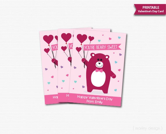 Valentine\'s Day Cards Classroom Kids Valentines Cards