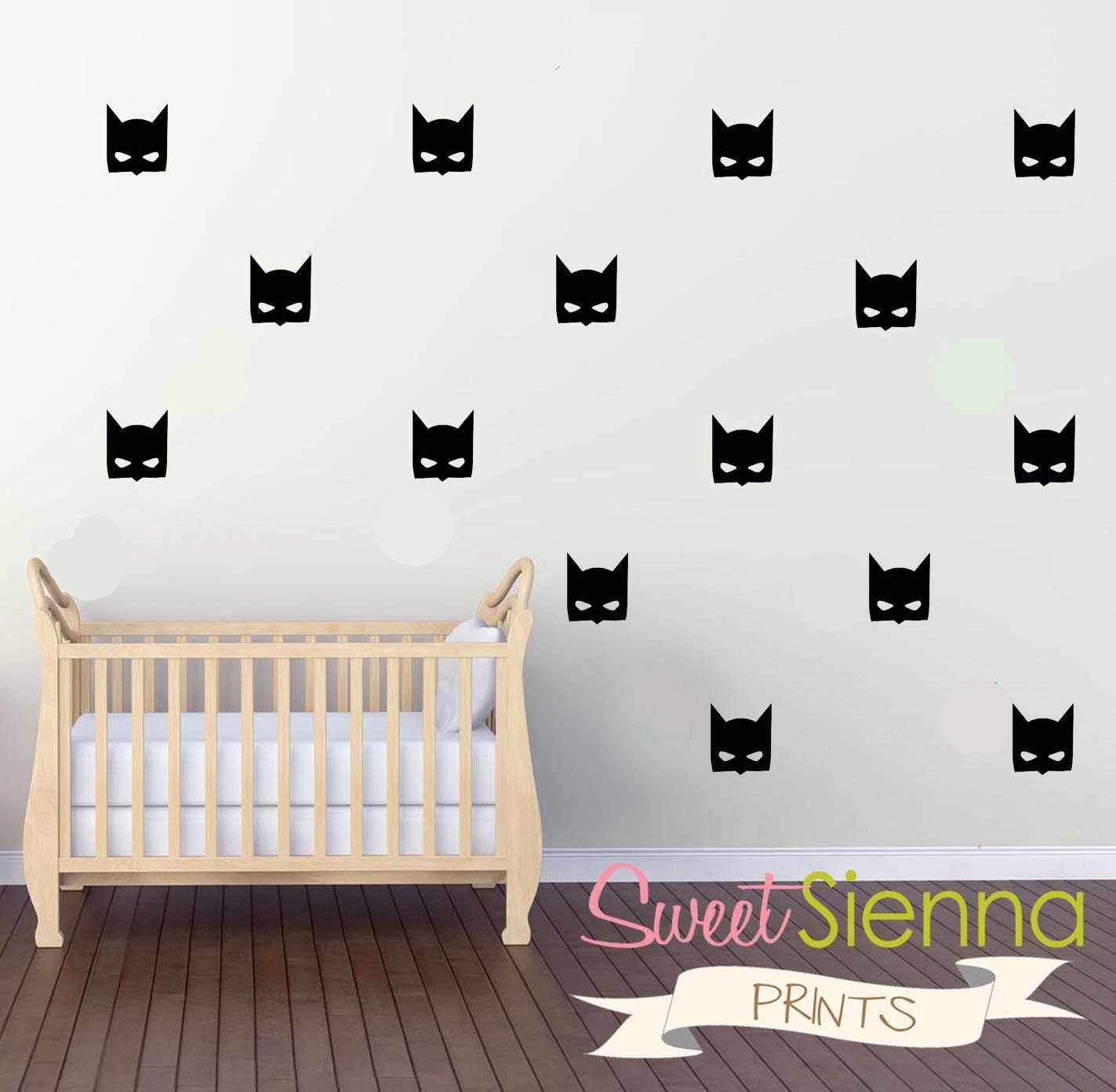 Batman wall decals batman decal batman wall sticker for Batman wall mural decal