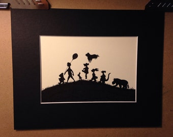 Disney Winnie the Pooh and Friends Silhouette
