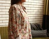 SALE WAS 17 - Floral Cotton Blouse