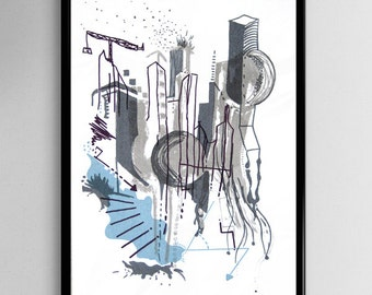 Original Screenprint for the home or an excellent gift