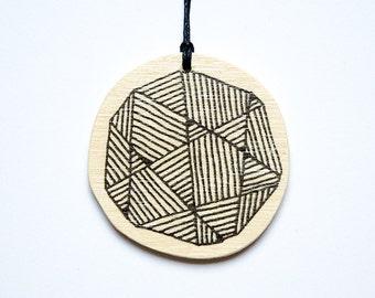 "Pendant ""Geometric Pattern"""