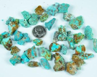 Villa Grove Colorado Turquoise Nuggets Seafoam 50 grams Lot VG2 Natural RARE