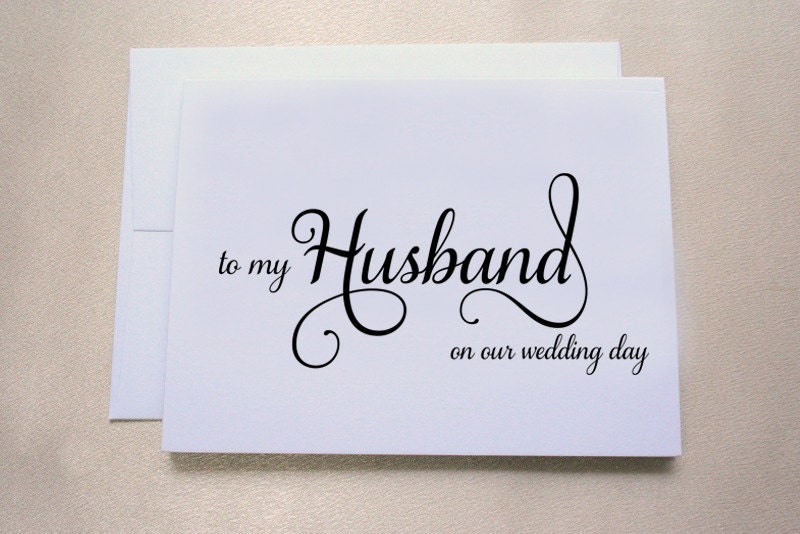 to my husband on our wedding day card wedding day card tree free