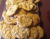 Oatmeal White Chocolate Chip Monster Cookies