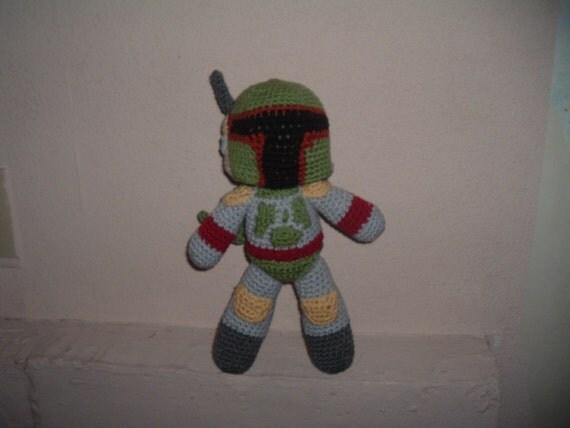 Amigurumi Free Pattern Dinosaur : Star Wars Boba Fett Crochet Amigurumi