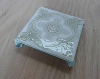 Mid century ceramic coaster/tile