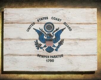 coast guard flag etsy