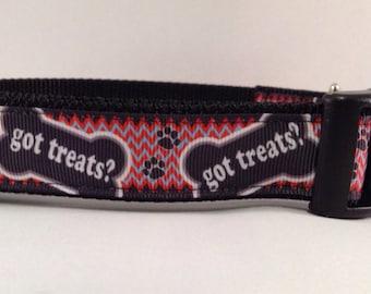 Got Treats? Dog Collar