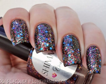 Shimmer Nail Polish - Courtney