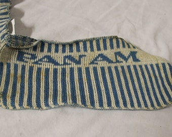 Vintage Pan AM Airlines Knit slippers