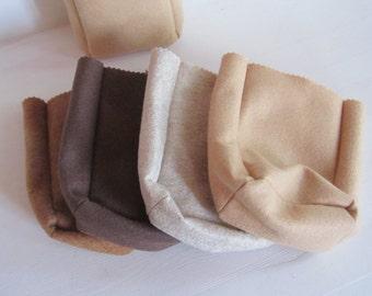 Small Felt Sandwich Paper Bag ~ READY TO SHIP