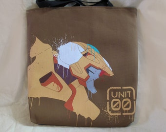 "18"" Canvas Tote Bag - Unit 00 Graffiti"