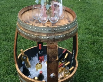Cocktail Table Ice Chest