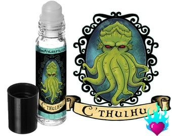 Cthulhu Perfume Oil Rollerball