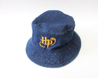 Harry Potter Quidditch Denim Bucket Hat