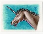 Unicorn ACEO
