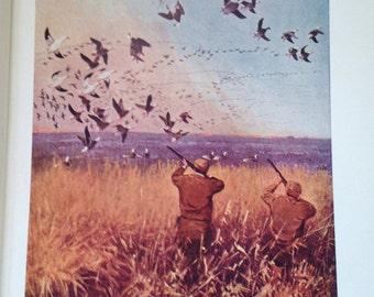 vintage book classic a book on duck shooting hard cover van campen heilner