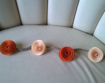 Items similar to set of two rose swag resin applique on etsy for Arland decoration