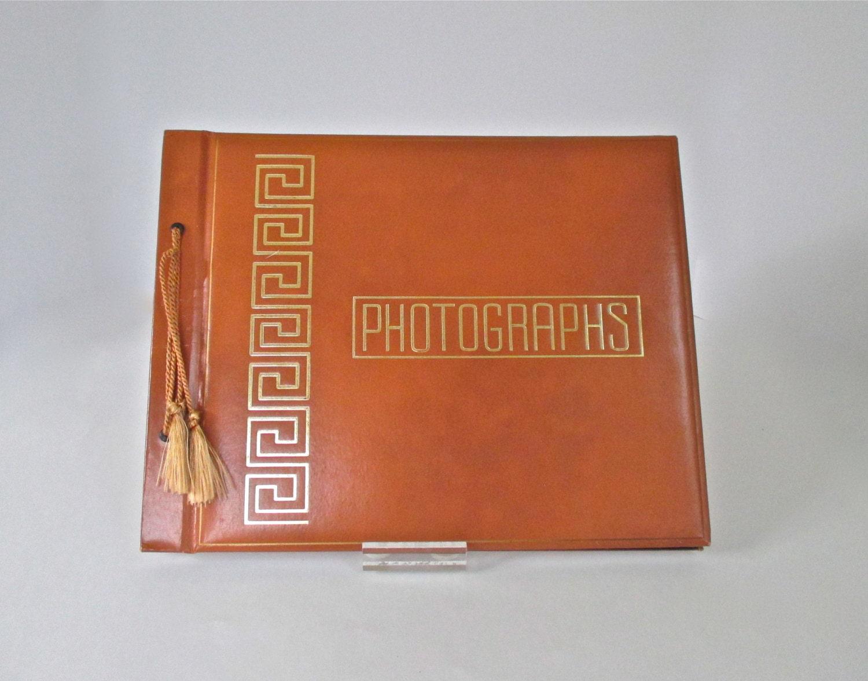 Vintage Photo Album Black Pages Vintage Photo Album